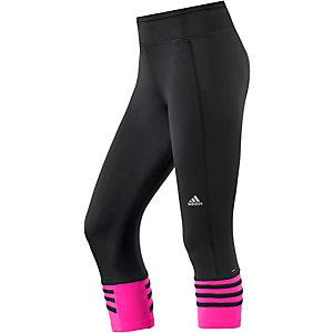 adidas Response Lauftights Damen schwarz/pink