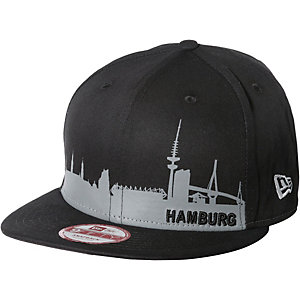 New Era Hamburg Skyline Cap schwarz/grau