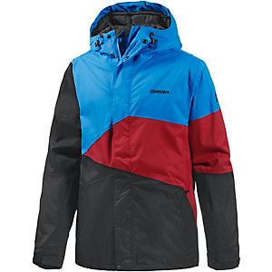 Zimtstern Inventor Snowboardjacke Herren schwarz/blau/rot
