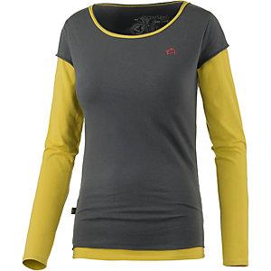 E9 Fede Langarmshirt Damen grau