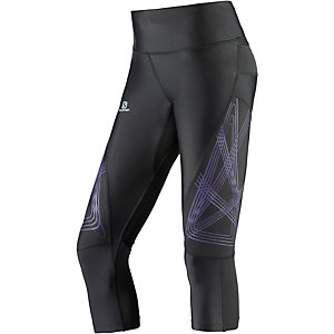 Salomon Intensity Lauftights Damen schwarz