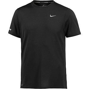 Nike Dri-Fit Contour Laufshirt Herren schwarz