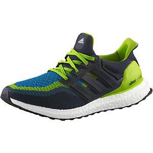 adidas Ultra Boost Laufschuhe Herren dunkelblau/grün
