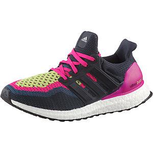 adidas Ultra Boost Laufschuhe Damen dunkelblau/pink