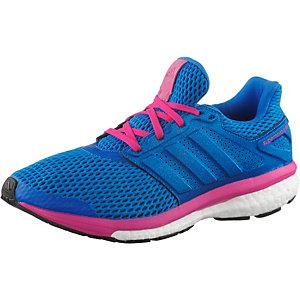 adidas Supernova Glide Boost 8 Chill Laufschuhe Damen blau/pink