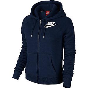 Nike Sweatjacke Damen dunkelblau