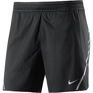 Nike Aeroswift Funktionsshorts Herren schwarz/grau