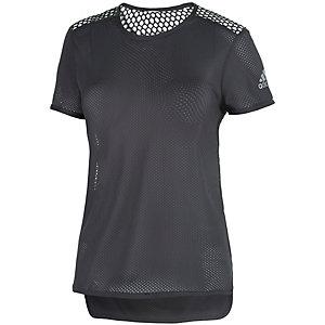 adidas Climacool Laufshirt Damen schwarz