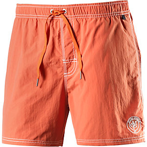 Marc O'Polo Solids Badeshorts Herren orange