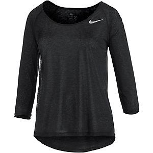 Nike Dri-Fit Cool Breeze Laufshirt Damen schwarz