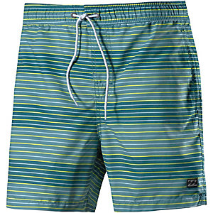 Billabong All Day Geo Layback Badeshorts Herren grün/hellgrün
