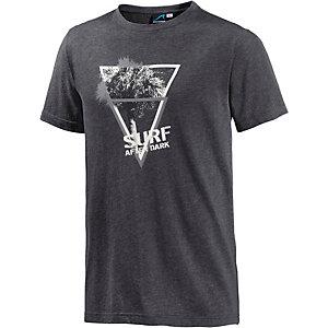 Maui Wowie Printshirt Herren schwarz