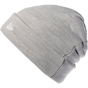 New Era Cuff Knit Beanie grau