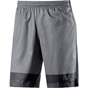 Nike Strike Fußballshorts Herren grau/schwarz