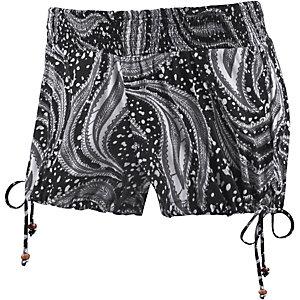 Volcom Swamis Shorts Damen schwarz/weiß