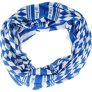 BUFF Raute Bandana blau