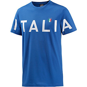 PUMA Italien EM 2016 Fanshirt Herren blau/weiß