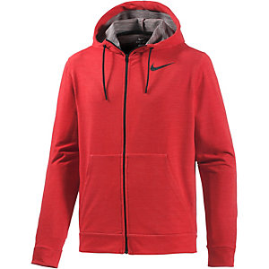 Nike Dri-Fit Kapuzenjacke Herren rot