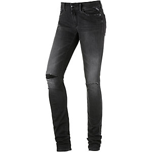 REPLAY Luz Skinny Fit Jeans Damen black denim