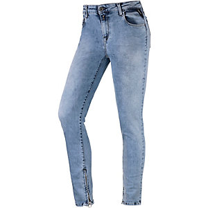 REPLAY Skinny Fit Jeans Damen light denim