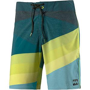 Billabong Slice X Boardshorts Herren grün/gelb