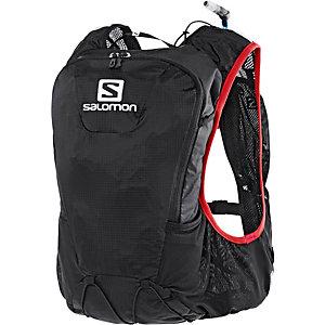 Salomon Skin Pro Trinkrucksack schwarz/rot