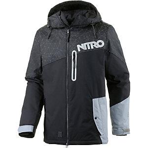 Nitro Snowboards Stevens Snowboardjacke Herren schwarz
