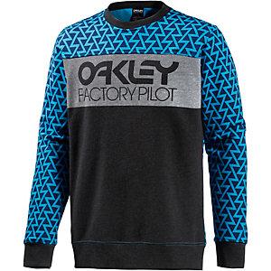 Oakley FP Crew Fleece Sweatshirt Herren grau/blau
