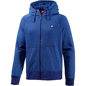 Nike AW77 Kapuzenjacke Herren blau