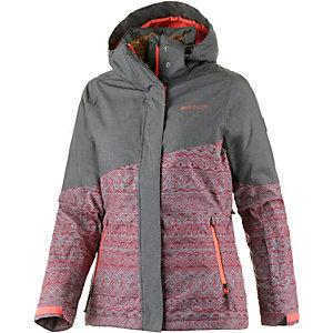 Brunotti Jarineo Snowboardjacke Damen bordeaux/schwarz