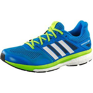 adidas Supernova Glide Boost 8 Chill Laufschuhe Herren blau/grün