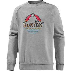 Burton Panorama Sweatshirt Herren graumelange