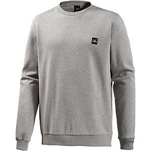 Cleptomanicx Tech Crew Sweatshirt Herren graumelange