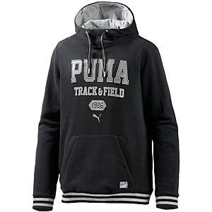PUMA Style Athletics Hoodie Herren schwarz