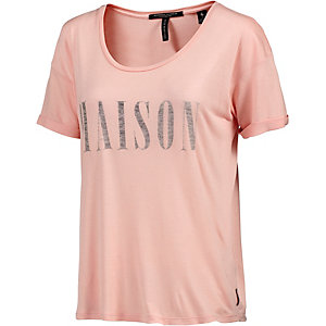 Maison Scotch T-Shirt Damen rose