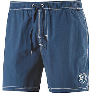 Marc O'Polo Solids Badeshorts Herren blau