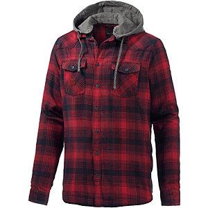 BLEND Outdoorhemd Herren rot/navy