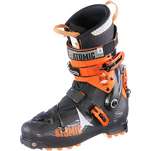 ATOMIC Backland Carbon Tourenskischuhe schwarz/orange