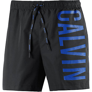 Calvin Klein Intense Power Badeshorts Herren schwarz/blau