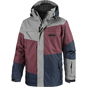 WLD Raise the Limit Snowboardjacke Herren grau/bordeaux/navy