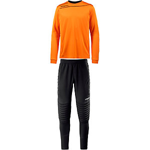 Uhlsport STREAM 3.0 Junior Torwart Set Torwarttrikot Kinder orange/schwarz