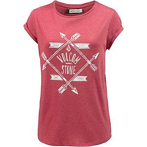 Volcom Sundaze T-Shirt Damen rot
