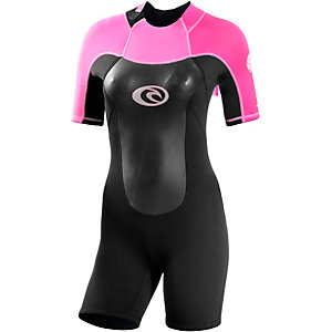 Rip Curl Omega S/S Neoprenanzug Damen schwarz/pink