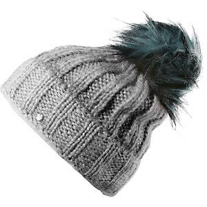 Chillouts Mütze Indra Bommelmütze grau