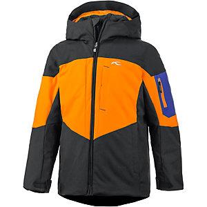 kjus skijacke jungen orange schwarz im online shop von. Black Bedroom Furniture Sets. Home Design Ideas