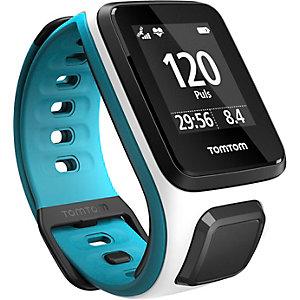 TomTom Runner 2 Cardio Sportuhr weiß/blau