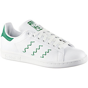 adidas Stan Smith W Sneaker Damen weiß/grün