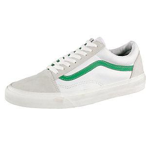 Vans Old Skool Sneaker Herren weiß/grün