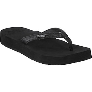 Reef Star Cushion Zehensandalen Damen schwarz