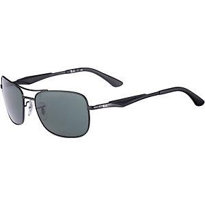 RAY-BAN ORB3515 006/71 58 Sonnenbrille schwarz